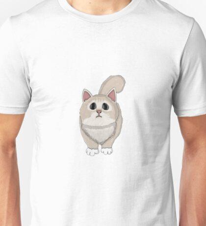 Cute sadly cat Unisex T-Shirt