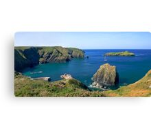 A Cornish panorama Canvas Print