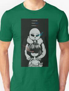 Undertale - Frisk and Sans Unisex T-Shirt