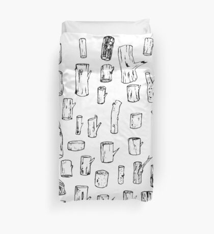 Logs! Duvet Cover
