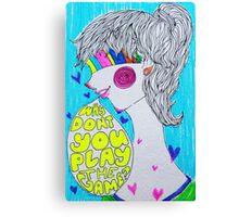 Digital Love. Canvas Print