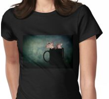 Tea for two Womens Fitted T-Shirt