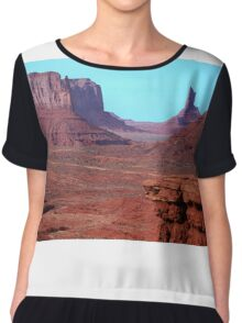Monument Valley Chiffon Top