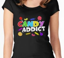 Candy Addict Women's Fitted Scoop T-Shirt