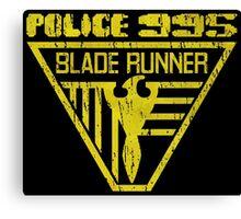 blade runner police crest Canvas Print