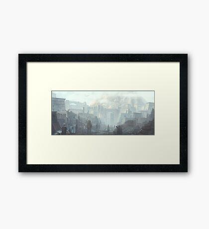 The Holy City of Vasselheim Framed Print