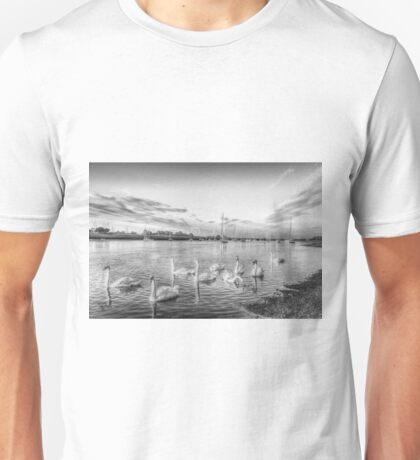 Graceful Swans Unisex T-Shirt