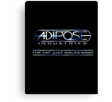 Adipose logo Canvas Print