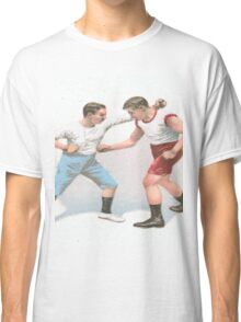 Vintage Boxing Manual Art Classic T-Shirt