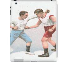 Vintage Boxing Manual Art iPad Case/Skin