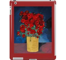 RED Poppies for Peace  iPad Case/Skin