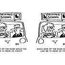 Driving Lesson - Which side of the road? by Nigel Sutherland