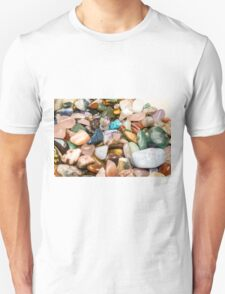 A collection of different Semiprecious Gemstones  Unisex T-Shirt