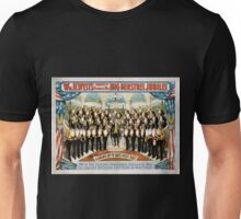 Performing Arts Posters Wm H Wests Big Minstrel Jubilee formerly of Primrose West 1764 Unisex T-Shirt