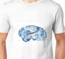 Narwhal in watercolour Unisex T-Shirt