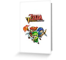 The Legend of Zelda : Tri Force Heroes Series Greeting Card