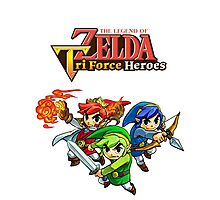 The Legend of Zelda : Tri Force Heroes Series Photographic Print