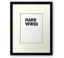 METALLICA NEW ALBUM Hardwired Hard Wired To Self Destruct Framed Print