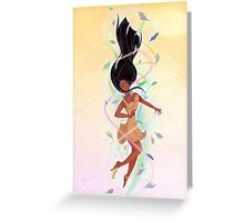 Feel the Colours of the Wind Greeting Card