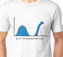 Bell Curve Unisex T-Shirt