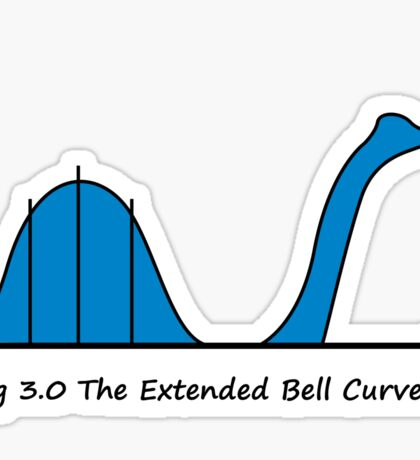 Bell Curve Sticker