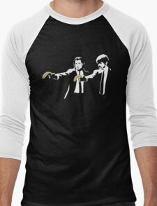 Banksy Pulp Fiction Men's Baseball ¾ T-Shirt