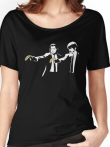 Banksy Pulp Fiction Women's Relaxed Fit T-Shirt