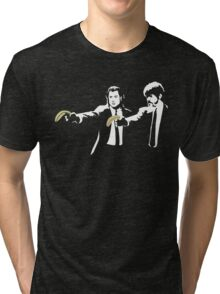 Banksy Pulp Fiction Tri-blend T-Shirt