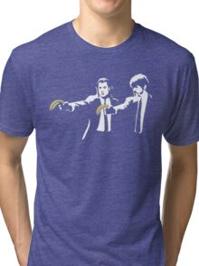 Banksy Pulp Fiction Tri-blend T-Shirt