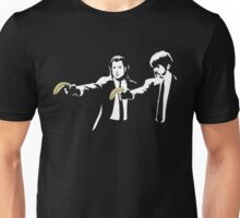Banksy Pulp Fiction Unisex T-Shirt
