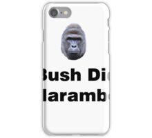 Bush Did Harambe iPhone Case/Skin
