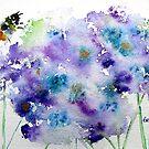 bee on lavender by Gea Jones