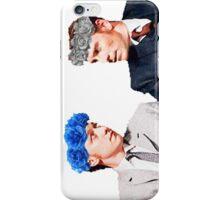 Charles and Erik flower crown edit iPhone Case/Skin