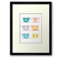 Disneyland Tea Cups Framed Print