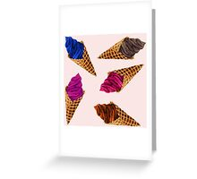 Ice Cream Everywhere! Greeting Card