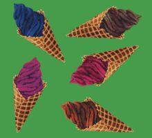 Ice Cream Everywhere! Kids Tee