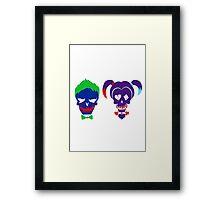 Joker & Harley Framed Print