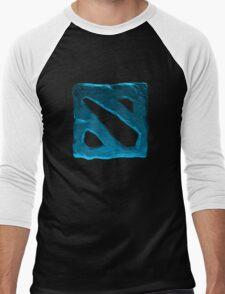 dota 2 bleu color Men's Baseball ¾ T-Shirt