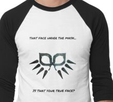 Behind the mask Men's Baseball ¾ T-Shirt