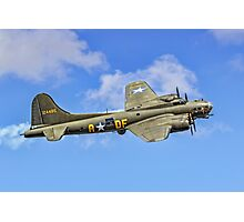"B-17G Fortress II G-BEDF ""Sally B"" Photographic Print"