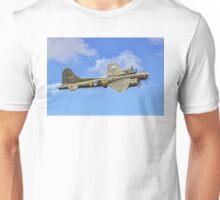 "B-17G Fortress II G-BEDF ""Sally B"" Unisex T-Shirt"