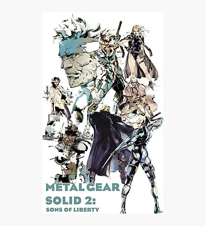 Metal Gear Solid 2: Sons of liberty Photographic Print