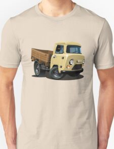 Cartoon delivery cargo pickup Unisex T-Shirt