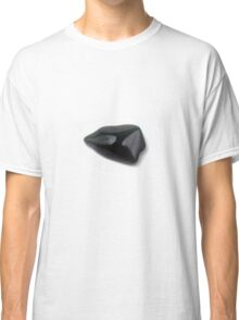 Cutout of a Bloodstone gemstone on white background Classic T-Shirt