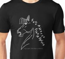 save a horse free a spirit pillow or tote black/purple Unisex T-Shirt