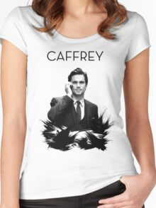 Awesome Series - Caffrey Women's Fitted Scoop T-Shirt