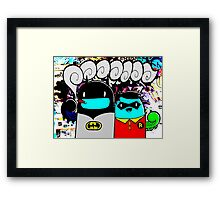 batman n bombin Framed Print