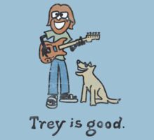 Trey is good. Kids Tee