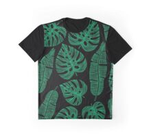 Tropical exotic palm leaves. Graphic T-Shirt