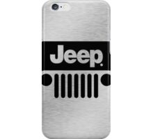 Jeep Steel Chrome iPhone Case/Skin